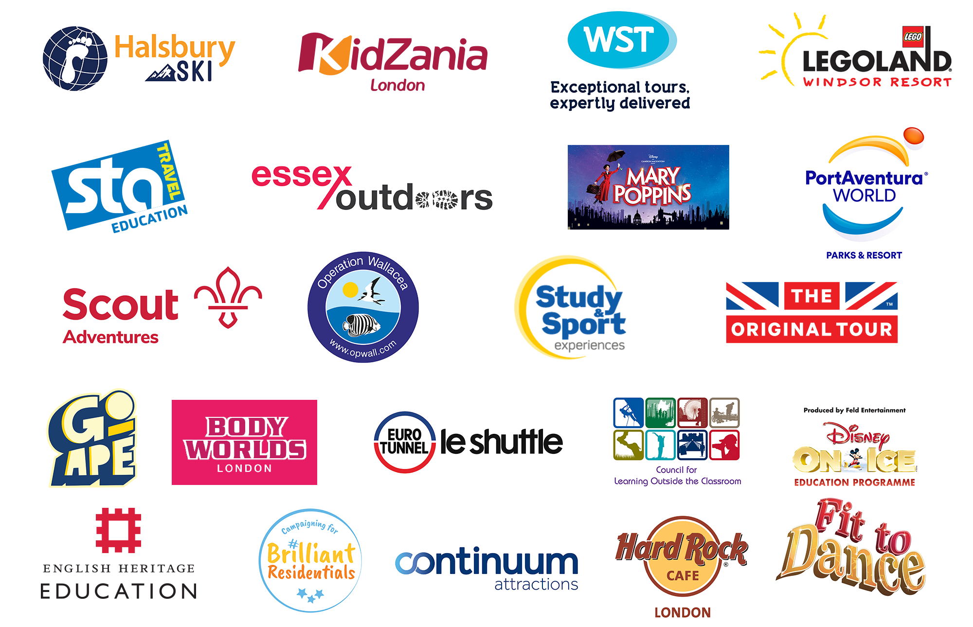 School Travel Awards Partners 2019